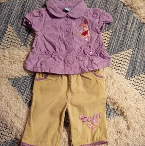 Disney Piglet outfit size 6-12 months
